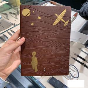 A6 Little Prince Fox Pilot Notepad Horizontal Leather Diary Notepad Leather Diary Personal Diary Memos Accounts Recording Travel Journal