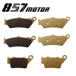 Brake Pad Set fit for F 700 GS F700GS 2013 - 2020 F 800 GS Triple Black Trophy 2012 F800GS 2008 - 2020 2009 2010 2011 2014