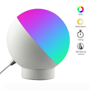BRELONG smart APP controls dimmable night light, ambient light, suitable for bedroom, kids room RGBW+Warm White