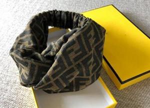 Hot Elastic Turban Stirnbänder für Frauen Italien Marken Brief Printed Cotton Sports Stirnband-Haar Headwraps Weihnachtsgeschenke 2020