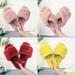 Hot Sale-Top Men Women Sandals With Slides Slippers With Fine Dust Bag Designer Shoes Slide Summer Fashion Wide Flat Sandals Slipper 12#249