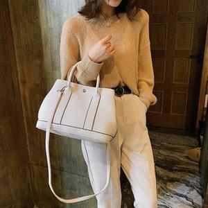 2020 Yeni Bayan Omuz Dış Stil Moda Vahşi Casual Bayan Tote Ivanka Trump Çantalar En Messen Vaag # Bag Kore Sürüm