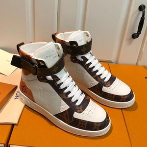 Luxury Men Shoes Sports Trainers Fashion Boots Design With Origin Box High Quality Outdoor Trendy Flat Sneakers Boombox Sneaker Boot Zapatos