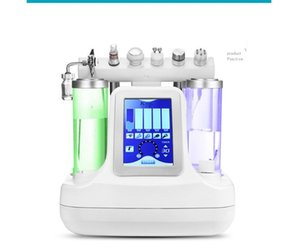 6 in 1 bio rf cold hammer hydro microdermabrasion water hydra dermabrasion spa facial skin pore cleaning machine 2020