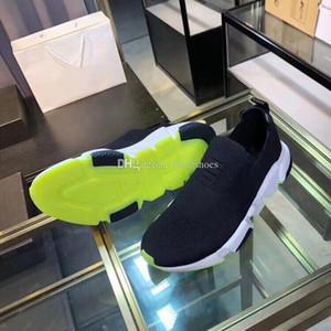 Носок Обувь Speed Trainer Повседневный обуви в неоновый зеленый Подошва Мужчины люкс Обувь Desginer Женщины Повседневная Sneaker Vintage Носок Knit Espadrilles