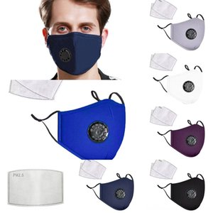 PqUdn New Protective Dustproof Mask Breathing Valve Sponge Mask Washable Reusable Anti-Dust Fog PM2.5 Face Masks 100pcs