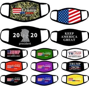 Trump Face Mask 24Styles American Presidential Election Biden Trump 2020 Anti Dust Make America Great Again Designer Masks OOA8207