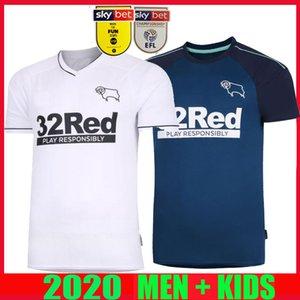 20 nuevos 21 camisetas de fútbol Derby County distancia Rooney 2020 2021 CAMISETAS de Fútbol MARRIOTT LAWRENCE Waghorn kit hombre camisetas de los niños