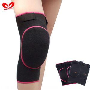 Adulto compresión de la esponja de Ling Ling rodillo anticolisión de patinaje rodilla almohadillas de compresión de la rodilla almohadillas anti-caída Dance Dance