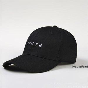 New Design Summer Adjustable Brand New Cotton Mens Hat Youth Letter Embroidery Unisex Hats Baseball Cap Snapback Casual Caps