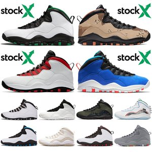 2020 neue Ankunfts-Basketball-Schuh-Männer 10 10s Westbrook Tinker Seattle Wüste Camo Trainer-Sport-Wüste Camo Jumpman Herren Turnschuhe