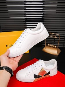2019nn luxury men's trend casual shoes, custom-made wild sports shoes, lace-up shoes, original packaging delivery 38-45