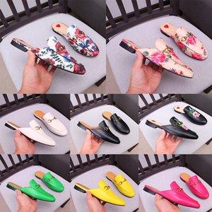 Gros 2020 concepteur de luxe Baotou chaussures pour femmes tongs imprimées homme mocassins en cuir de mode sexy petites pantoufles Bee