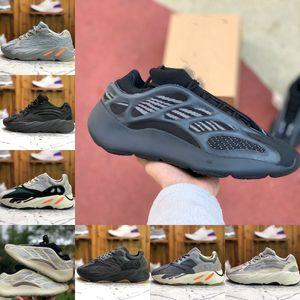 Venda 700 Inércia Running Shoes baratos Vanta 700s V3 Alvah Azael 3M reflexiva Kanye West V2 Névoa estrangeiro Branco Homens Mulheres Runner sapatilha