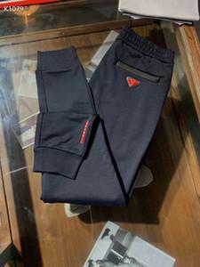 Mens 2020 осенью и зимой дизайнер дорожки для бега трусцой брюки ~ китайский размер брюки ~ высокого качества мужской йоги бегуны отслеживать треники