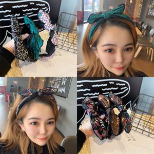 vMGJz koreanischen einfachen 2019 neuen Stil drücken Online rot Hairpin Kinder Kaninchen-Ohr-Haar net send Netzwerk Netzwerk Kaninchenohrstirnband senden