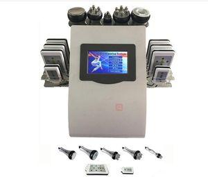High Quality New Model 40k Ultrasonic liposuction Cavitation 8 Pads LLLT lipo Laser Slimming Machine Vacuum RF Skin Care Salon Spa Equipmen