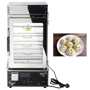 Ad alta efficienza in acciaio inox macchina testa mobile a vapore pane testa panetteria panino cibo vetro temperato macchina per il pane cotto a vapore
