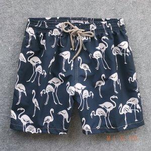 Vilebrequin deportes de los hombres de secado rápido pantalones cortos de surf Flamenco pantalones de playa pantalones cortos pantalones de playa perder trajes de baño rectas