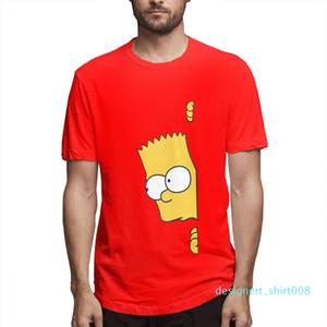 Cotton Os Simpsons desenhador de moda camisas camisas das mulheres dos homens de manga curta Camisa O c3707d08d08 Simpsons Impresso camisetas Causal
