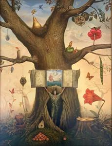 Arbre généalogique Kush Vladimir Home Décor peint à la main HD Imprimer Peinture à l'huile sur toile Wall Art Toile Photos 200803