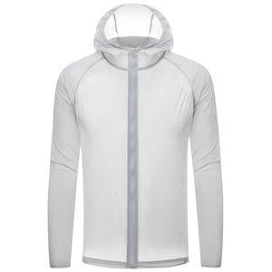 Sun Jacket Protezione della pelle Gli uomini le donne esterna sottile giacca a vento impermeabile leggera Estate asciugatura rapida escursionismo Giacche 2020