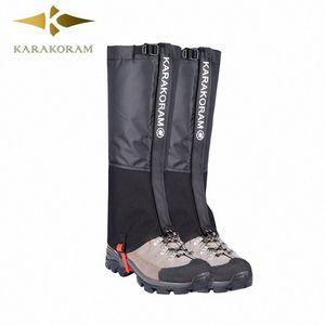 Outdoor si accampa facendo un'escursione impermeabile della neve Legging Ghette per uomini e donne Teekking Sci deserto neve stivali Shoes Covers Ur5Q #