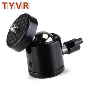Canlı Tripodlar 1/4 Hot Shoe Kilidi LED Işık Flaş Parantez Tutucu için birlikte Tripod Dağı Kamera Kafa Topu Adaptörü Beşik Topu Kafa