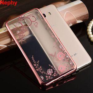 Nephy Luxus-Fall für Samsung Galaxy A3 A5 A7 J3 J5 J7 2015 2016 2017 A J 3 5 7 Prime Duo Glitter