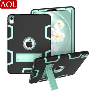 원래 갑옷 충격 방지 케이스 새로운 iPad 2017 2018 공기 2 프로 9.7 10.2 air3 10.5 (11) 헤비 듀티 하드 커버 전신 보호