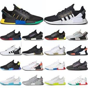 adidas nmd r1 v2 boost أحدث TN زائد سي الاحذية الثلاثي أبيض أسود فرط نفسية الأزرق ديلوكس نظارات رجالي الاحذية الرياضية حذاء رياضة حجم 40-46