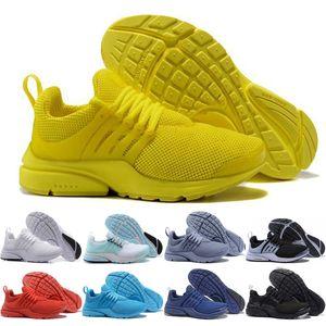 nike air presto react ayakkabı mens çalışan yüksek kaliteli sarı Unholy kümülüs siyah tüm beyaz mavi pembe Işık mor grayred mavi spor ayakkabıları womens
