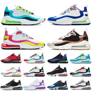 Air React 270 nebulosa DIA DO MORTO runnning Shoes Men clássico Mulheres Laser Fuchsia OG TT Ultra 20 Mens aniversário Trainers Sneakers