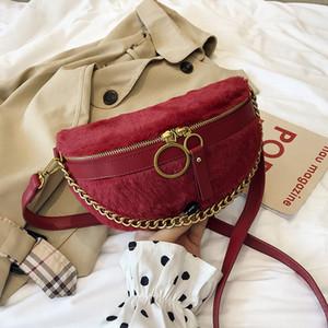 Autumn Marca Originalidade Bag Small Design Mulheres 2020 Nova Versão Coreana Do Joker Pockets Moda Casual Cadeia Peito Bag