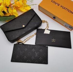 2020 femme portefeuille pour les hommes / femmes bourse cuir imprimé de fleurs Portefeuilles Pour les hommes de mode Porte petite carte porte-monnaie Designer Portefeuille avec boîte