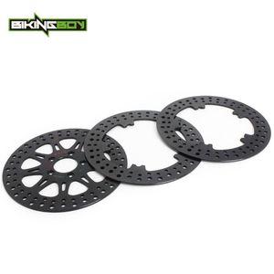 BIKINGBOY completa Define Frente Rear Brake Discs Discos rotores para Dyna 1690 FXDLS Low Rider S 17 2020