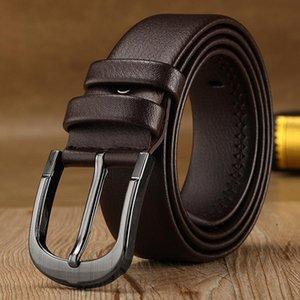 Classic Men Business Belt Outdoor Women Party Travel Waistband Metal Pin Buckle Pure Colors Belts TTA978
