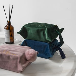 Facial Tissue Box Cover Holder doux velours rectangulaire papier avec pour salle de bains Chambre Tissues Bureaux Commodes Table 24x18cm