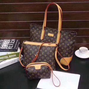 3pcs three-piece men women fashion Handbags travelling bag shopping Shoulder Bag Totes Purses coin purse Messenger Bag Lady Handbags