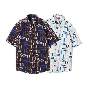 Dior short sleeve shirt 2020ss primavera y el nuevo algodón de alto grado del verano impresión de manga corta ronda cuello panel de la camiseta del tamaño xshfbcl: M-XXXL