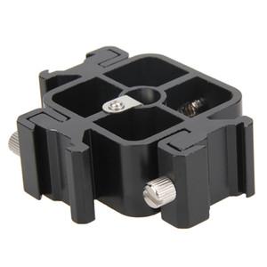 ALLOET 3 en 1 adaptador de montaje de zapata Triple toda de metal del zapato por Holder Soporte para Flash Professional para luces Umbrella soporte Holder