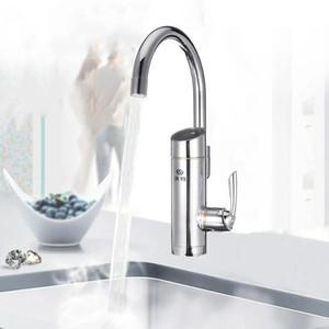 220V 3000W Ванная Кухня Электрический кран Tap Instant Hot Cold Water Heater
