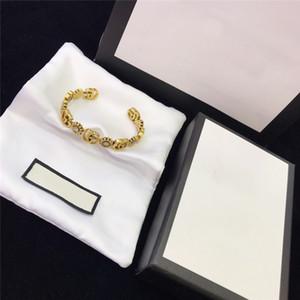 Pulsera bonzer mujeres pulseras brazalete de la nueva del estilo de la vendimia de las pulseras de la señora letra temperamento Mujeres mano de obra exquisita