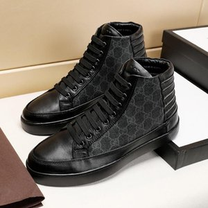 New Arrival Mens Shoes Autumn And Winter Lightweight Footwears Men High Top Sneakers Casual Plus Size Lace -Up Men Boots Scarpe Da Uomo