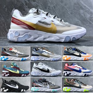 Hot Sale 2018 Piet Parra x 1 Running Shoes Men Women Parra 87 white multi-color Wotherspoon New Sports Sneakers Running Trainers KAH9J