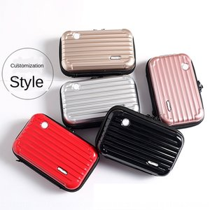 New travel sling pattern washing cosmetic storage dinner small cosmetic case bag PC waterproof portable storage bag