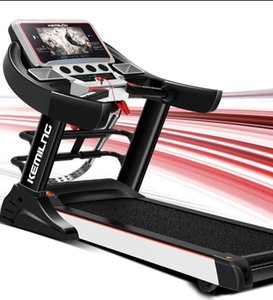 2020 new 10.1 inch color screen WiFi Internet access video single function   multi-function household electric treadmill fitness equip 92w7#