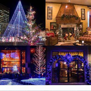 여러 가지 빛깔의 휴일 조명 10M 100 LED 요정 문자열 파티 라이트 램프 크리스마스 웨딩 야외 LED 스트링