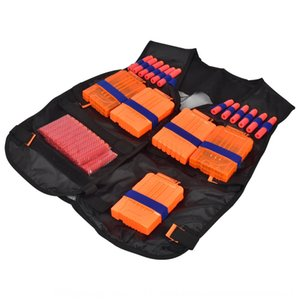 Elite accesorio táctico Thin camuflaje chaleco Pistola NERF Equipo Equipo Negro bala suave calor Vestvest Accesorios Upjfn