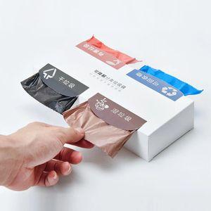 Разлагаемых Экологически объявления Мешки для мусора Кухня Home хранения Утолщенные Портативный PE отходов мусора мешок Предотвращение утечки из Xiaomi Yo